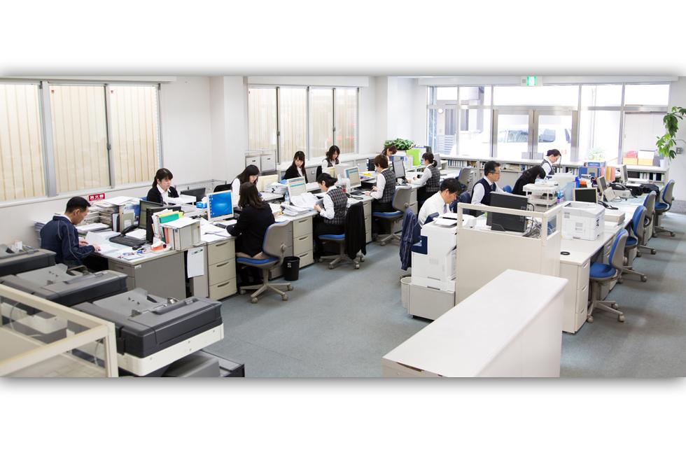 新社屋1F/営業部